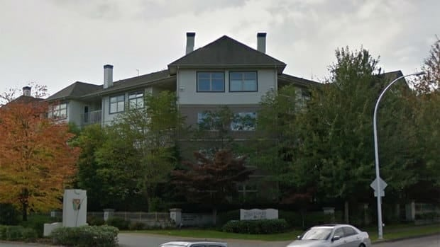 The Jordinsons live in this quiet condo complex in the 15,000-block of Guildford Drive in Surrey