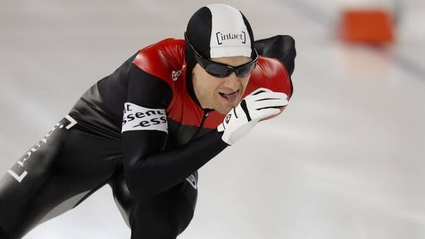 Canada's Jamie Gregg clocked 35.06 seconds to beat Pekka Koskela of Finland by 0.01 seconds.