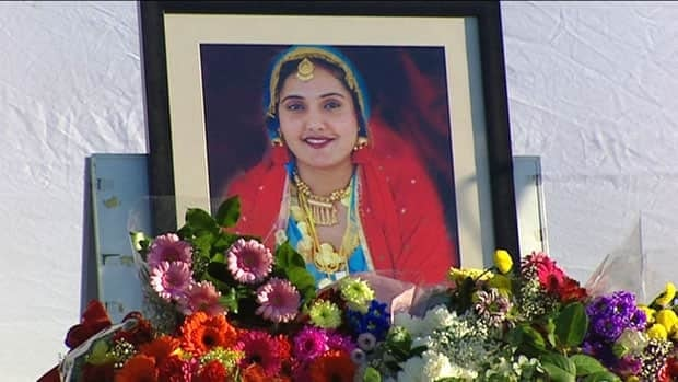More than 200 mourners attended a memorial for Ravinder Bhangu, 24, shortly after she was killed in 2011.