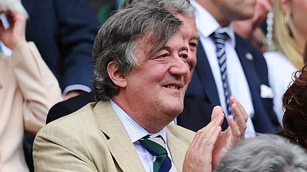 British entertainer Stephen Fry, seen at Wimbledon in June, released his letter in conjunction with the All Out advocacy group.