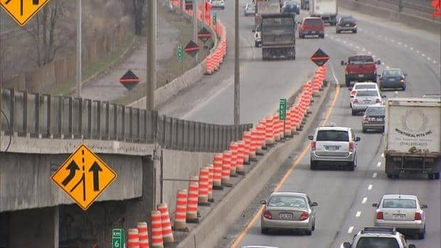 A recent Transport Quebec survey found residents would be in favour of the government investing more in roadwork instead of public transit.