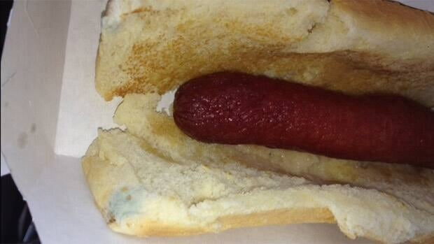 An Edmonton mother is angry over the response from Dairy Queen after purchasing a mouldy hot dog last month.