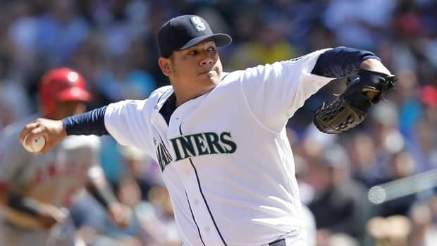 Felix Hernandez of the Seattle Mariners won the American League Cy Young Award in 2010.