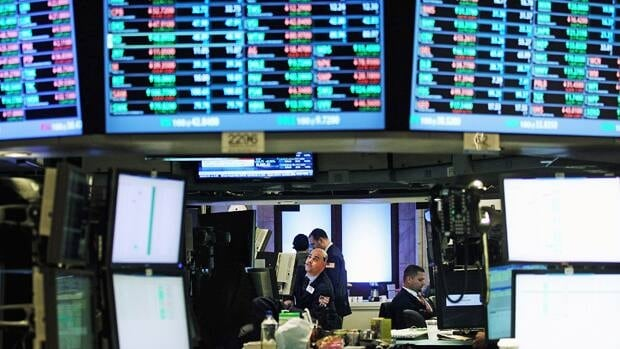 North American stocks markets surged Tuesday with the Nasdaq composite closing above 3,000, for the first time since December 2000.