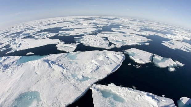 The latest projections say Arctic sea ice might disappear by 2022, according to measurements from the European Space Agency.