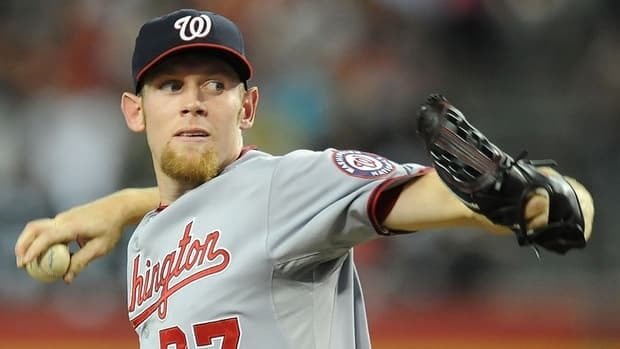 Stephen Strasburg entered play Aug. 17 with a 13-5 record for 2012, but his chances to build on that win total may be limited as the team will not let him surpass the 180-inning mark this season.