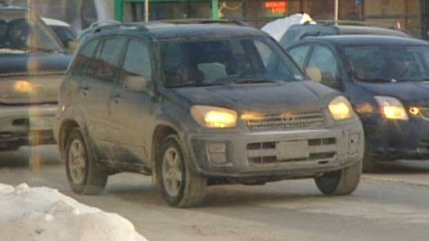 Drivers who don't keep snow or mud off their licence plates can be slapped with a $113 ticket, say Winnipeg police. Those who deliberately cover up their plate numbers can face higher fines.