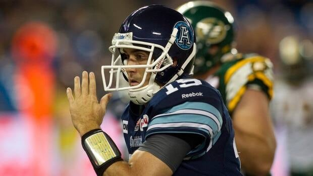 Toronto Argonauts' quarterback Ricky Ray will look to stick it to his old club in the East semifinal on Sunday.