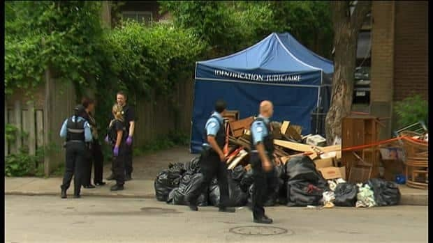 Montreal police the grisly garbage discovery is the city's 11th homicide of the year.