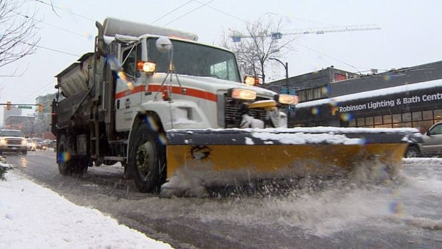 The union that represents snow plow operators in the CBRM said there aren't enough workers to keep roads and sidewalks clear.