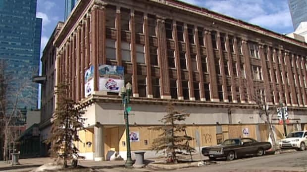 The Ramsey Building has been boarded up since a fire swept through the building's fourth floor in 2009.