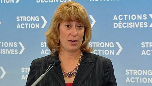 Education Minister Laurel Broten unveiled the details of proposed legislation from the Ontario government that would freeze teachers' wages if approved.