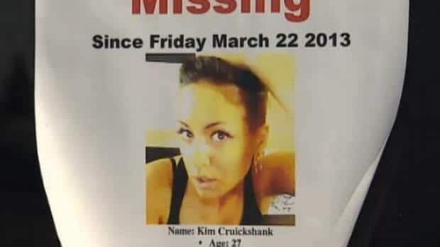Kim Cruickshank has been missing since late March. Regina police continue to search for the 27-year-old.