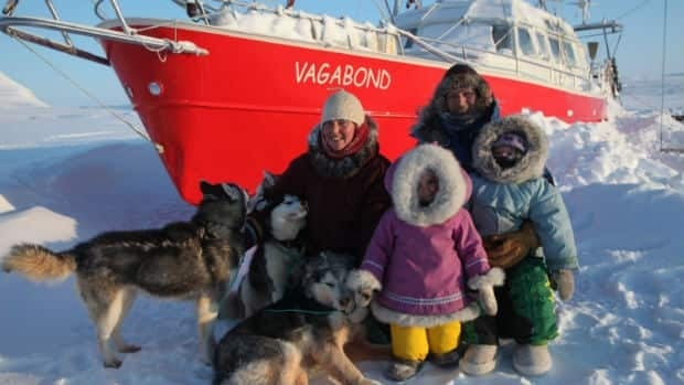 The Brossier family is no stranger to wintering on a boat in the Arctic - before their time in Nunavut, they spent five years on a boat in the Arctic near Norway.