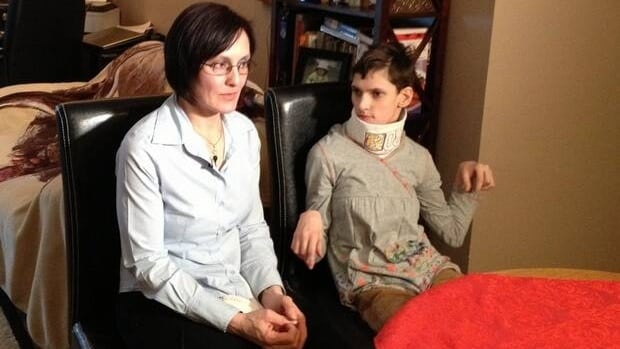 Reka Kincses and her daugher Boglarka were facing deportation to Romania because the federal government thought the medical costs for the 22-year-old would be excessive.