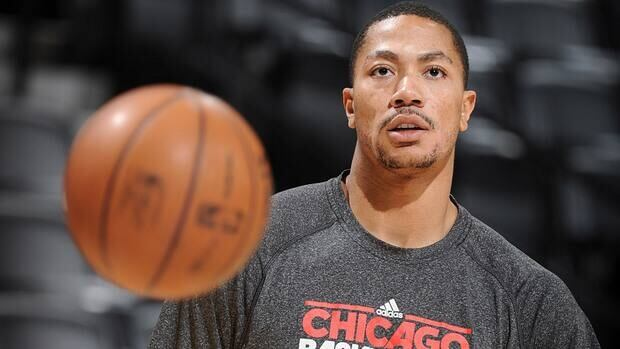 Derrick Rose has been sidelined since he tore his ACL late in last season's playoff-opening win over Philadelphia.