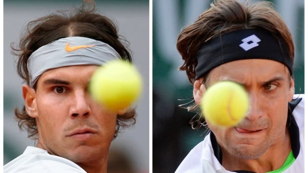 Rafael Nadal, left, and David Ferrer will both have their eye on the ball, and on a championship in Sunday's French Open men's final. Nadal seeks his 12th Grand Slam title while Ferrer is looking for his first.