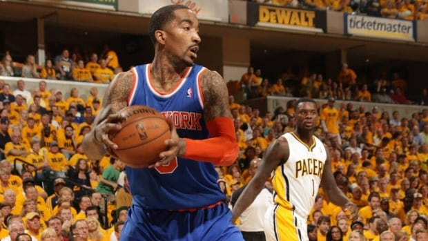 J.R. Smith of the New York Knicks averaged 18.1 points during the regular season, second on the team behind Carmelo Anthony.