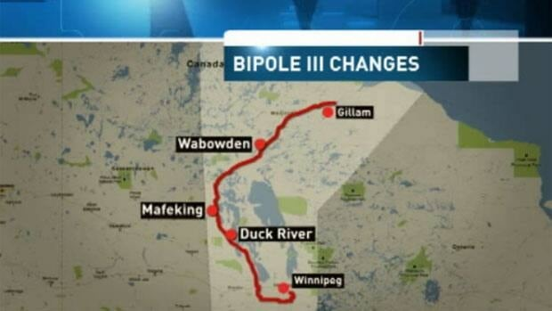 The proposed route for the Bipole III hydroelectric transmission line has been met with opposition from various groups, including the Manitoba Métis Federation.