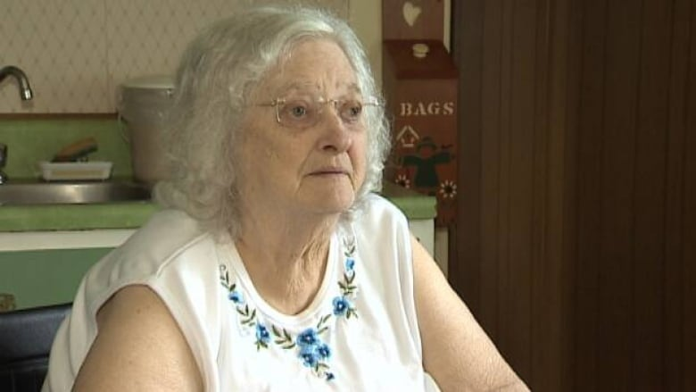 Elsie 82 Says A Salesman Came To Her Door And Said Her