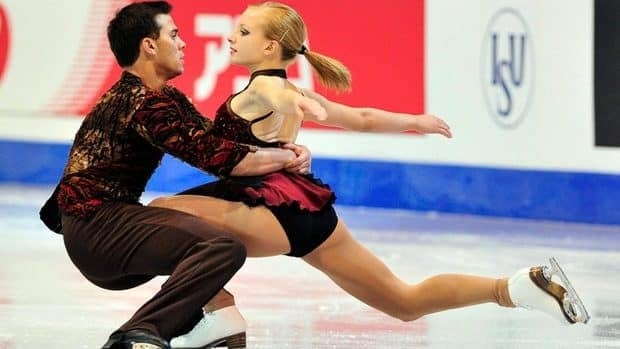 Katherine Bobak and her partner Ian Beharry, seen in this photo from the ISU Junior Grand Prix of Figure Skating in Quebec City in December, sit sixth after the pairs short program at the world junior championships.