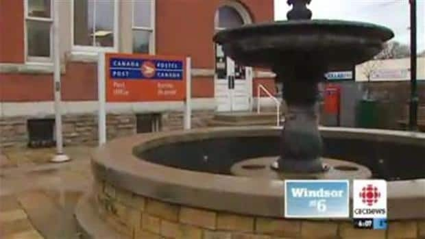 CBC Windsor has learned there may be a lot of problems with the Olde Sandwich Towne post office building.