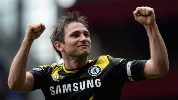 Frank Lampard is Chelsea's new all-time leading scorer with 203 goals. Previous record holder Bobby Tambling scored 202 times for the club between 1959 and 1970.
