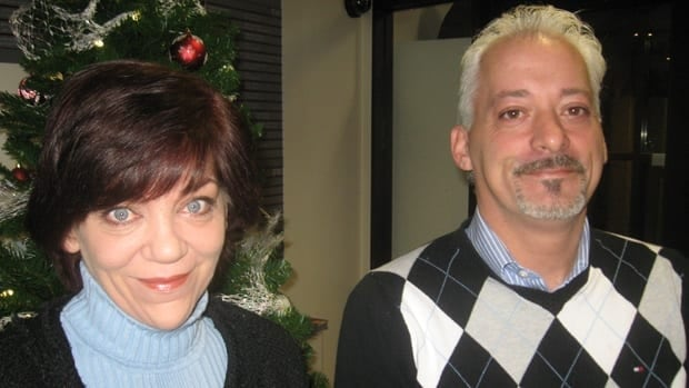 Beverly Mitchell and Joseph Benoit, of The Grasshopper Foundation. Mitchell is no longer associated with the foundation. (CBC)