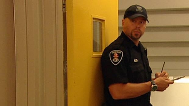 The Windsor Police said officers walk through Ouellette Manor at least three times per day, making it very uncomfortable for criminals to congregate.