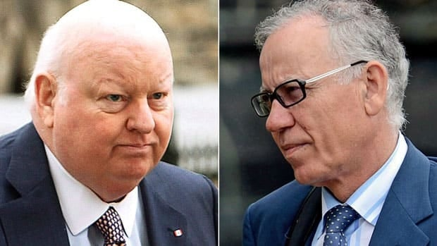 The RCMP has gathered files from Elections Canada on Senator Mike Duffy's expenses during the 2011 election, as well as property information related to Senator Mac Harb, right, newly released documents show.