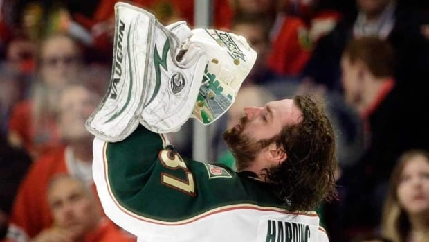 Minnesota Wild goalie Josh Harding played 10 games last season after being diagnosed with multiple sclerosis.