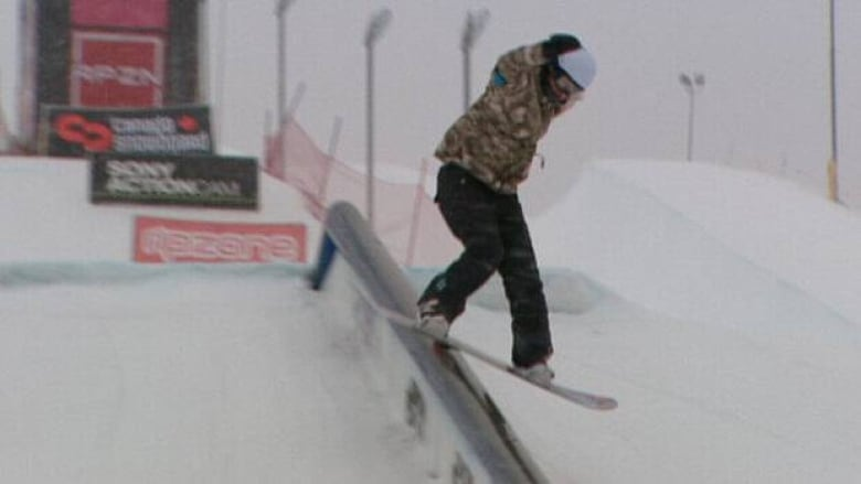 Snowboarding championships on at Canada Olympic Park | CBC News