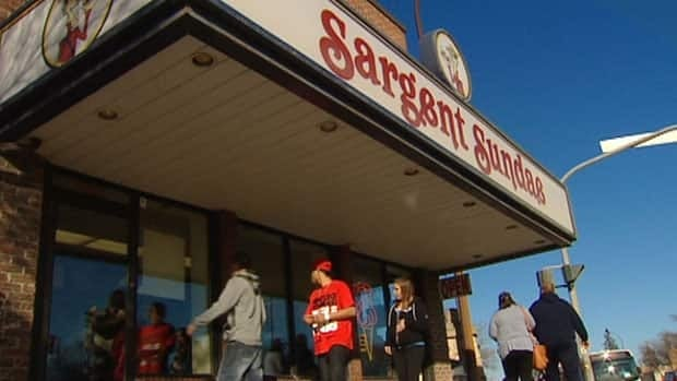 A steady stream of customers flowed through the doors at Sargent Sundae in Winnipeg on the weekend.
