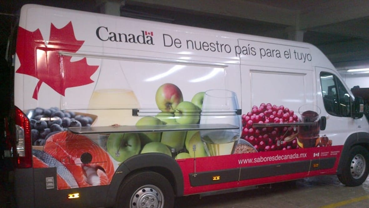 Mexico Food Truck Promoting Canadian Cuisine