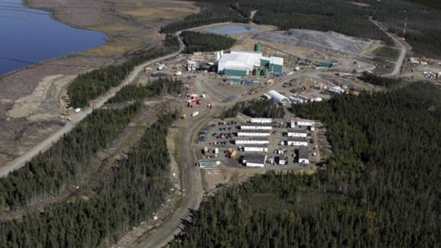 The copper and zinc mine, which is located near Millertown in central Newfoundland, officially opened in 2007.