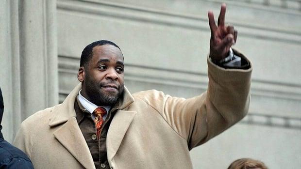 Former Detroit mayor Kwame Kilpatrick on Thursday got  28 years in prison for corruption.