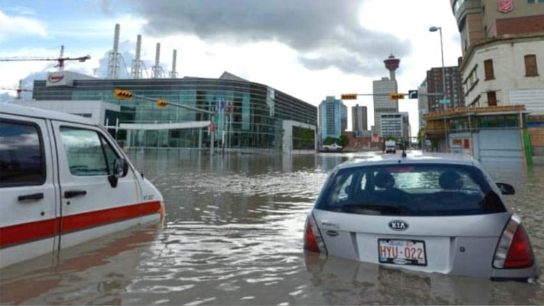 Calgary flood mitigation up in the air as millions in provincial money on hold
