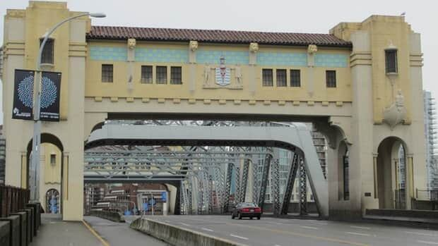 Construction on Vancouver's Burrard Street Bridge starts today.