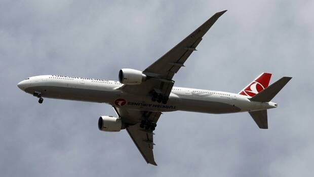 A Turkish Airlines plane arrives at Ataturk International Airport in Istanbul May 29, 2012.