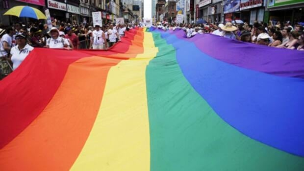 The Toronto Gay Pride Parade is the biggest celebration of gay and transgender communities in Canada.