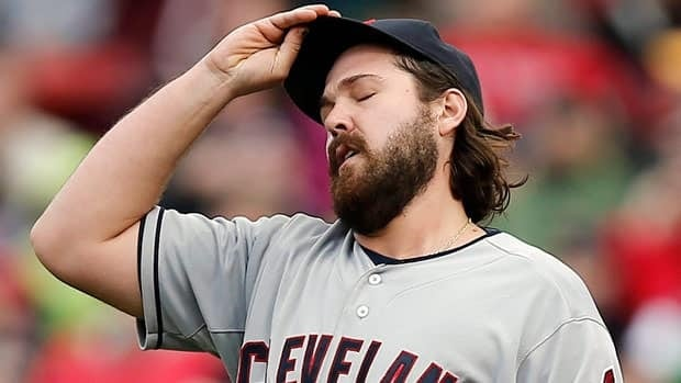 Cleveland Indians relief pitcher Chris Perez, seen in a May 26 game, is currently on the disabled list.