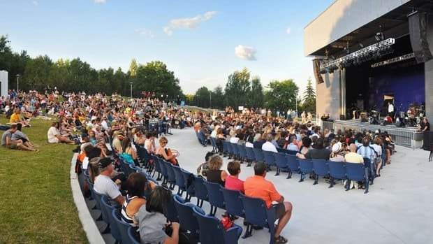 Bookings are on the rise for the Grace Hartman Amphitheatre, located in Sudbury's downtown.