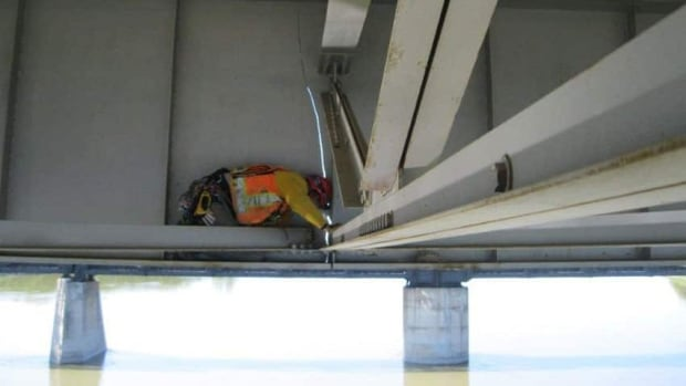 After a crack opened up on this section of the Diefenbaker Bridge in 2011, talk about a 2nd bridge became more frequent.
