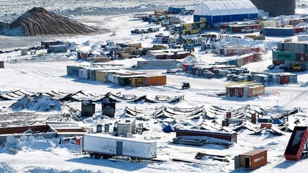 The Meadowbank gold mine, owned by Agnico-Eagle, is located near Baker Lake, Nunavut, on Inuit-owned land.