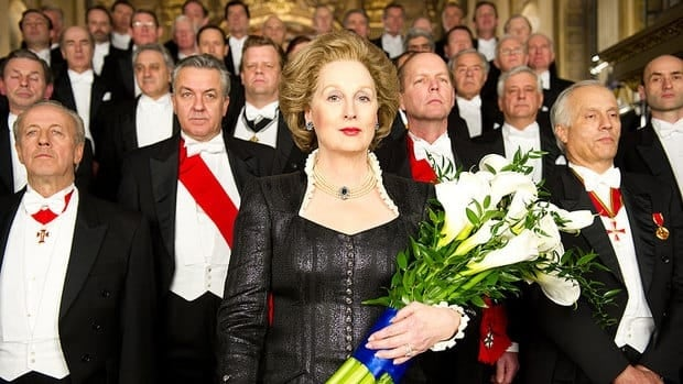 Meryl Streep is a strong film awards season contender for her portrayal of Margaret Thatcher in The Iron Lady.