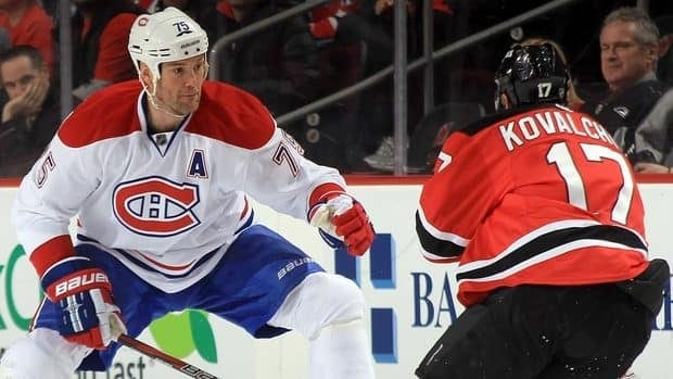 Canadiens defenceman Hal Gill, left, is on the move to the Nashville Predators.