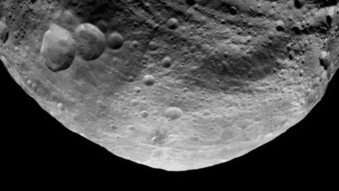 Huge asteroid was hit twice, scientists figure ...