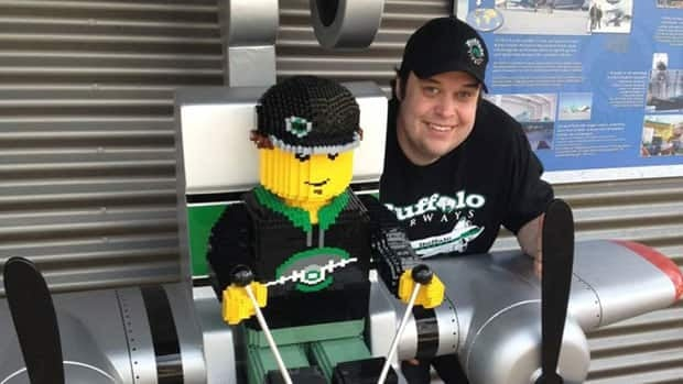 The park features a life-sized Lego version of Mikey McBryan, the general manager of Buffalo Airways and a main character on the show.