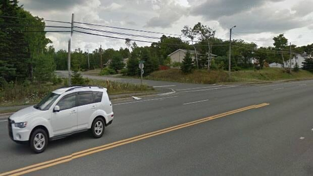 The Kytes Hill Drive intersection on Grand Lake Road in Sydney is undergoing changes to make it safer. Some residents say the changes don't go far enough.(Google Street View)