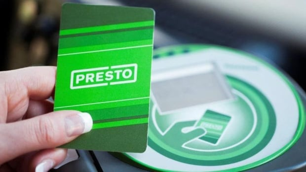 The Presto system is expected to come to all streetcars by the end of 2015, buses by next summer and subway stations by the end of 2016 as part of an accelerated rollout.